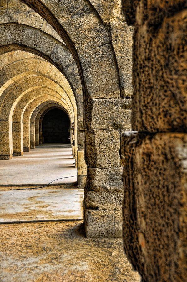 Caravansarai; Sultanhani, Turkey. by John Gafford