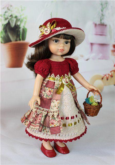 """Комплект для куклы 30 - 33 см.""""Дачный"""" / Одежда для кукол / Шопик. Продать купить куклу / Бэйбики. Куклы фото. Одежда для кукол"""