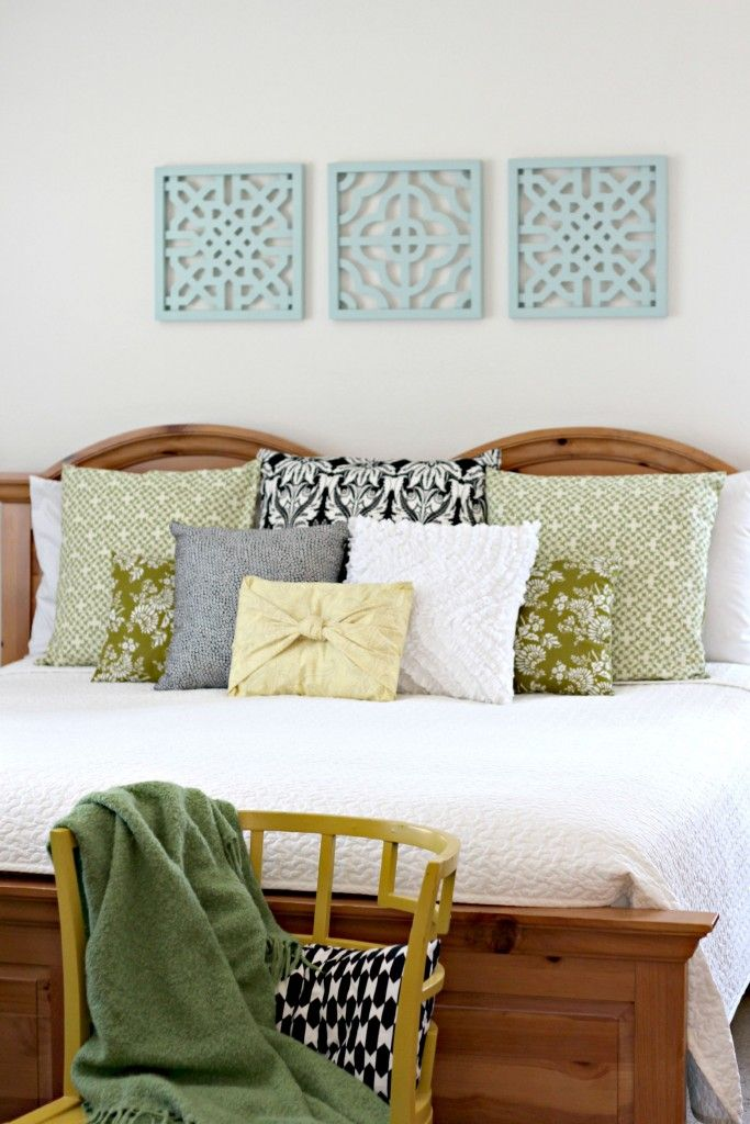 Wall Art Master Bedroom Above Bed.1. Check Out The Cork Board I Transformed