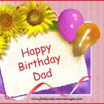 Birthday Messages For Father, Dad Birthday Sms Wishes Hindi