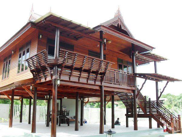 แบบบ้านทรงไทยโบราณ