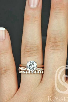 18 wedding ring sets that make the perfect pair see more http