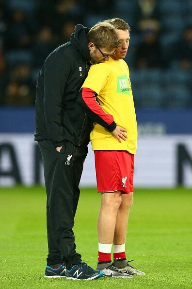 Klopp and Lucas. LFC