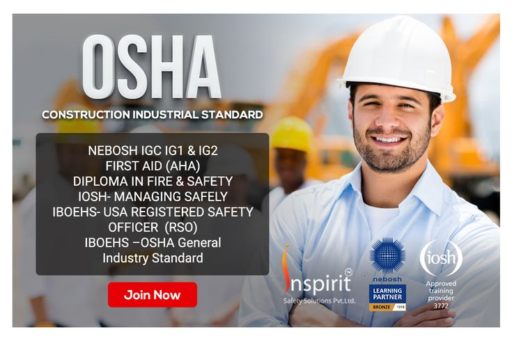 Get prepared in occupational health and safety course