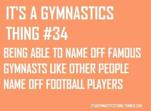 its a gymnastics thing | It's a gymnastics thing | Gymnastic Quotes