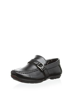 56% OFF Joseph Allen Kid's Justin Slip-On Casual Shoe (Black)