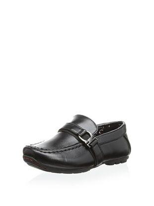 56% OFF Joseph Allen Kid's Justin Slip-On Casual Shoe (Black)