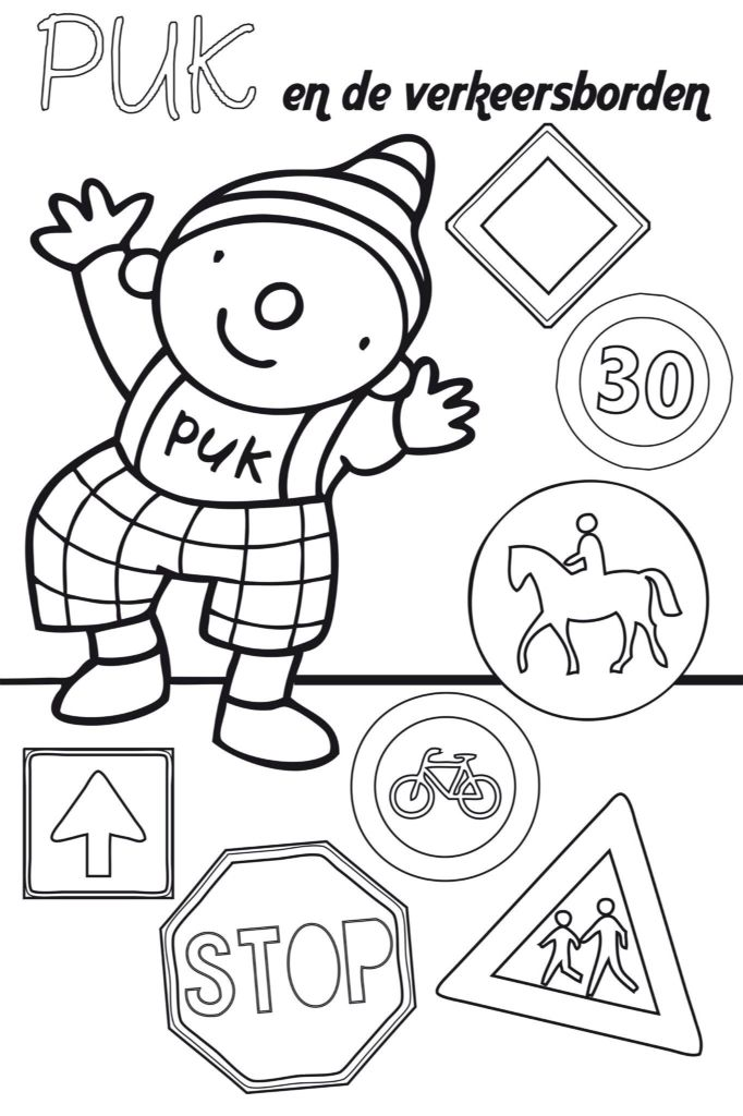 safety coloring contest pages - photo#43