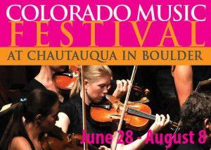 Colorado Music Festival 50% off!