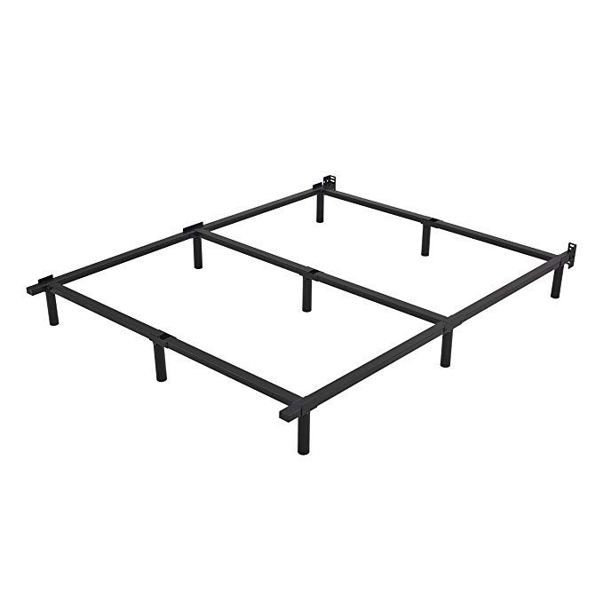 Homus Full Size Bed Frame Heavy Duty 7 Inches Metal Mattress Base