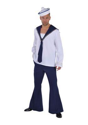 Matroos Deluxe | Kostuums mannen | FEESTARTIKELEN BELGIE - GOEDKOPE FEESTARTIKELEN - FEESTKLEDING - CARNAVALSKOSTUUMS
