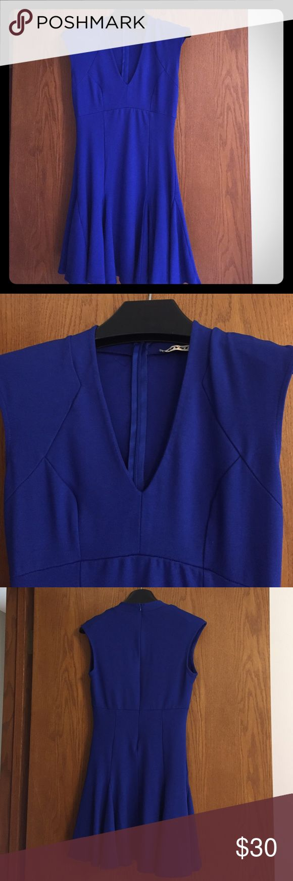 Size Medium Mystic Dress Fabulous and fun bright blue dress. Size Medium buy definitely fits more like a Small, though the material is quite stretchy. Washed once but never worn. Dresses Mini