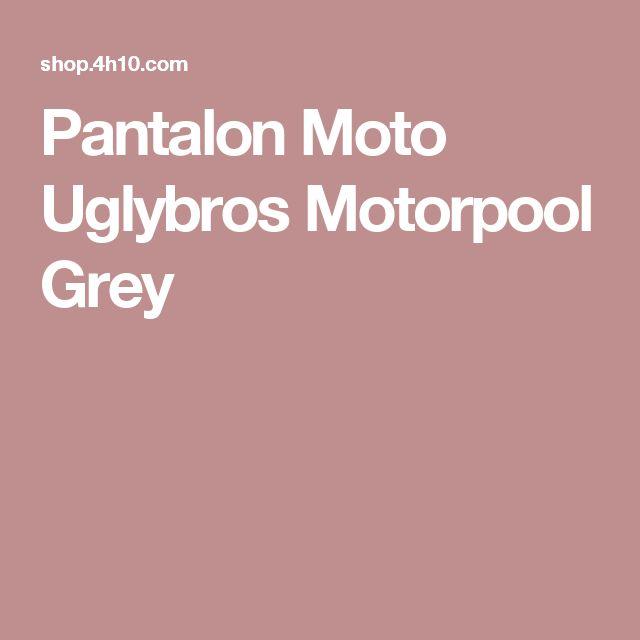 Pantalon Moto Uglybros Motorpool Grey