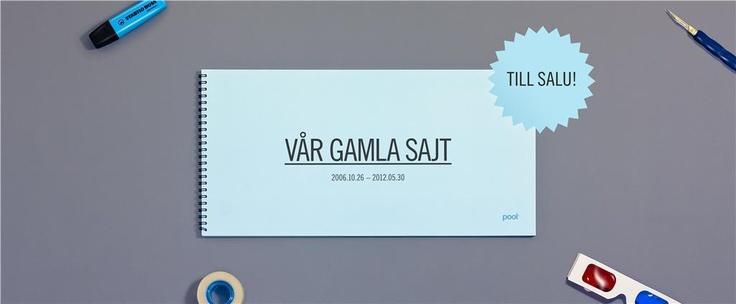 Gamla pool.se, inbunden raritet från 2006 på Tradera.