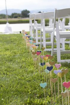 The 25+ best DIY aisle decorations for outdoor wedding ideas on ...