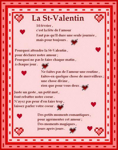 Gifs et Images de St-Valentin - Poésie pour la St-Valentin - Frawsy