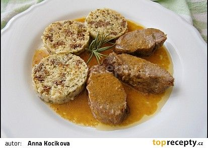 Kančí marinovaná kotleta s máslovou šťávou