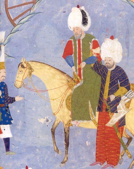 Süleyman I. auf dem Weg nach Szigetvár/Chester Beatty Library, Dublin