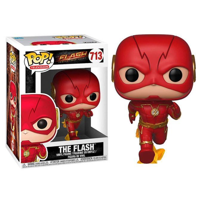 Figure Funko Pop The Flash Running Dc Comics