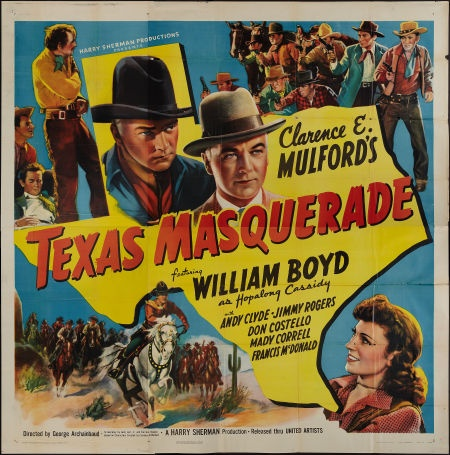 Movie PostersWestern, Texas Masquerade (United Artists