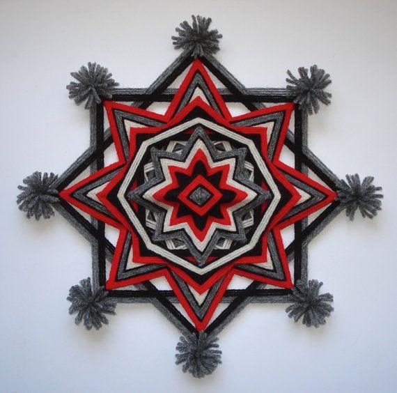 Navajo Dream  12 Ojo de Dios   Yarn by 3LittleKittensStudio, $32.00
