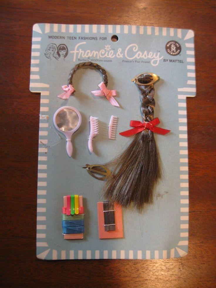 1966 Francie & Casey - Hair Dos (Modern Teen Fashions For) #
