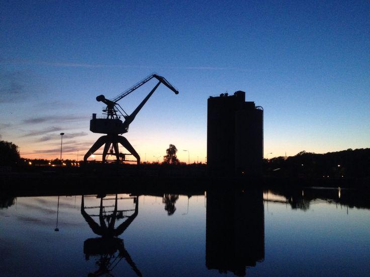 Fisketur Odense havn