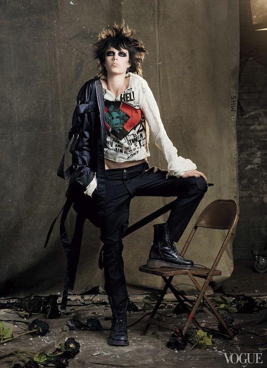 Punk fashion Foto de Punk: del caos a la alta costura