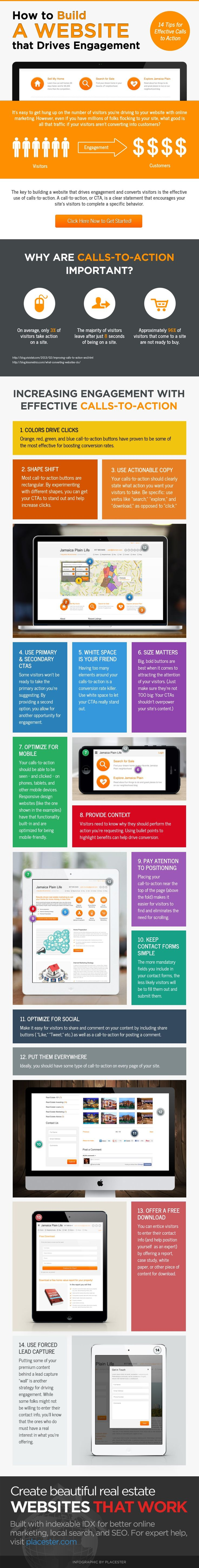 Creating Website Calls-to-Action That Build Your Real Estate Business [Infographic]   Inman News