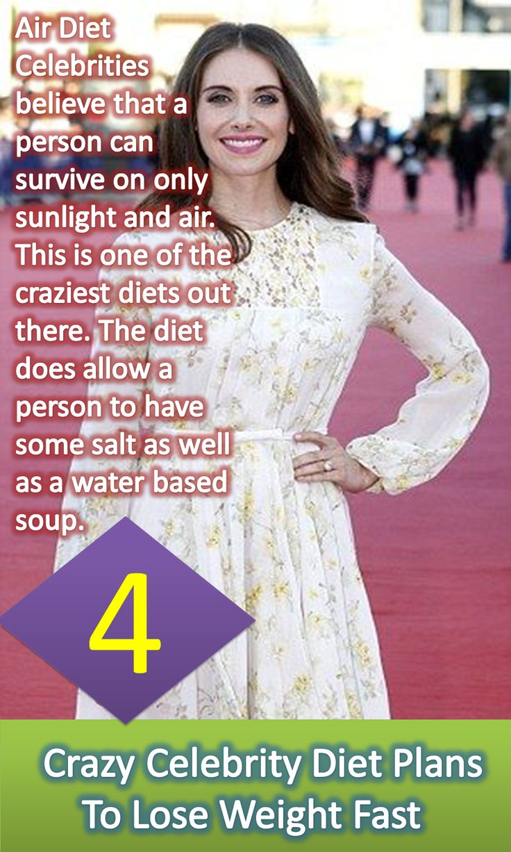 Top 10 Celebrity Diets: Melt Away The Pounds For Your ...