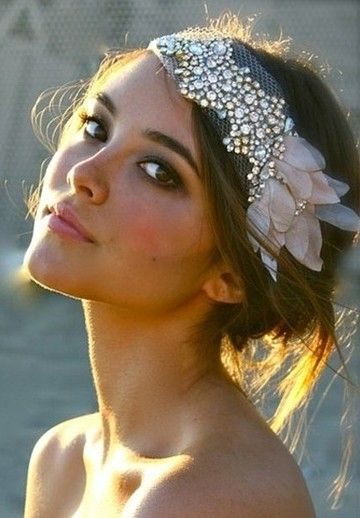 For a vintage flare, add a 1920's inspired headband that will make you the center of attention!