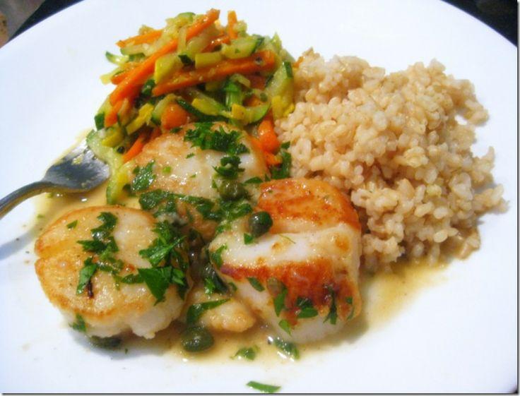about scallops on Pinterest | Seared scallops, Pan seared scallops ...