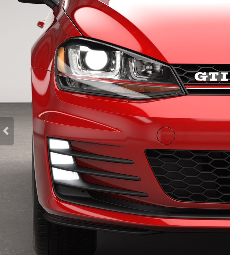 GTI Mk7 Bi-Xenon headlights / LED foglights / US