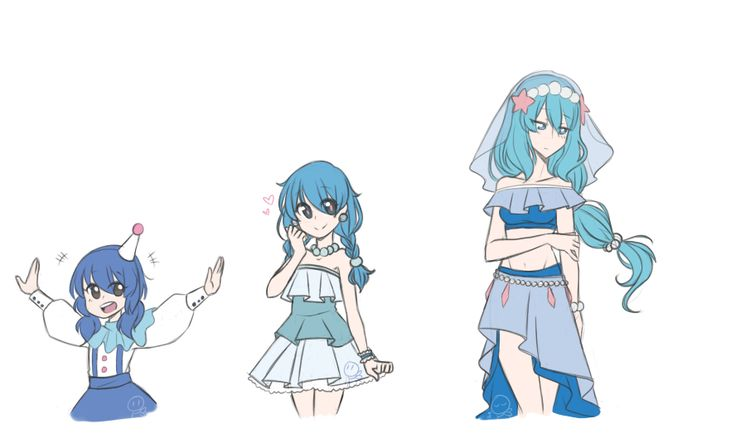 Another Evolution Lineup quickie, this time my female Popplio and her lovely evolutions! I wish I can choose her as my starter, but I had already promised myself to begin my next Pokemon adventure ...