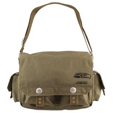 Seattle Seahawks NFL Prospect Deluxe Messenger Bag