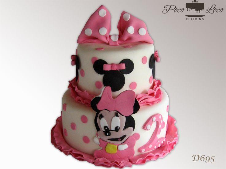 Torta Mini Maus Minnie Mouse Torta Minniemousecake