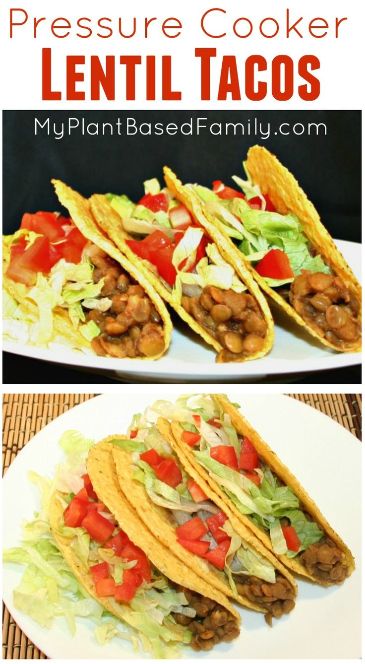 These plant-based (vegan) tacos are made in the pressure cooker. Enjoy this easy and delicious way to have taco night.