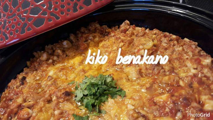 Chtitha mokh : Cervelle de veau en sauce tomate