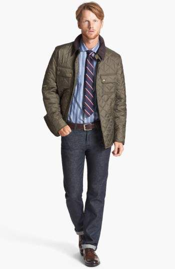 Winter Style Barbour Tinford Regular Fit Quilted Jacket