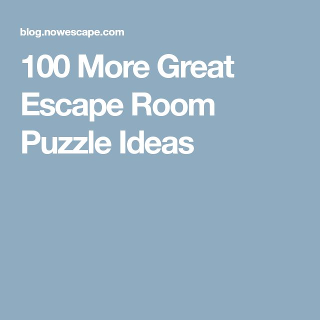Best 25 Escape Room Puzzles Ideas On Pinterest Escape