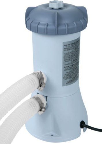 Intex 1000 GPH (Gallon Per Hour) Pool Filter Pump http://www.thepoolfactory.com/