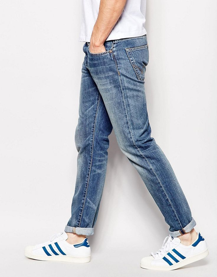 Edwin Jeans ED-80 Slim Tapered Compact Indigo Mid Glint Used