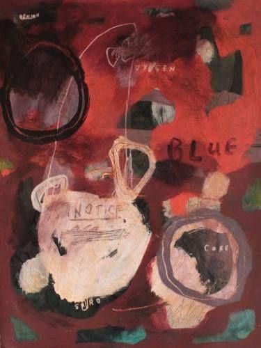 "Saatchi Art Artist deny pribadi; Painting, ""core"" #art"
