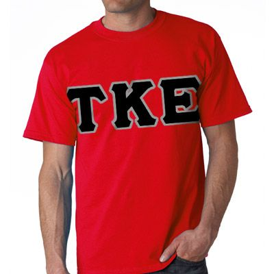 Fraternity Clothing, Twill Lettered T-Shirt #fraternity #clothing #greek