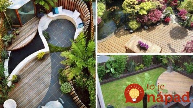 35 geniálnych riešení pre malé záhrady! Pozrite si všetky na našej stránky http://tojenapad.dobrenoviny.sk/35-genialnych-rieseni-male-zahrady/  #littlegarden #garden #zahrada #tojenapad #exterior