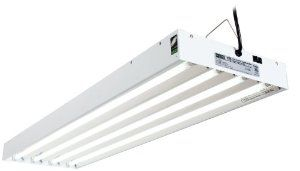 Hydrofarm FLT44 4-Feet/4-Tube T5 Commercial Fixture with Bulbs by EnviroGro. $122.51. UL listed components, including a German-made socket and specular aluminum, for longer life. UL listed ballast with 5 year warranty. Powder coated steel housing. Hangs 3 ways - overhead, vertical, or horizontal. Includes fluorescent 6400K, T5 tubes. This commercial T5 system delivers performance, flexibility and high lumen output in any growing environment. This daisy chainable ...