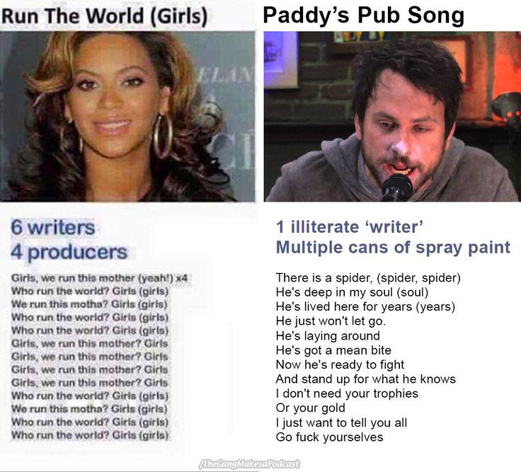 Beyoncé vs Charlie Kelly