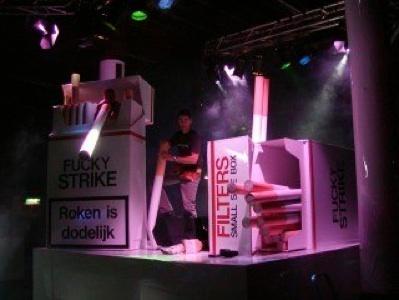 JVDG Fucky Strike / Now & Wow club