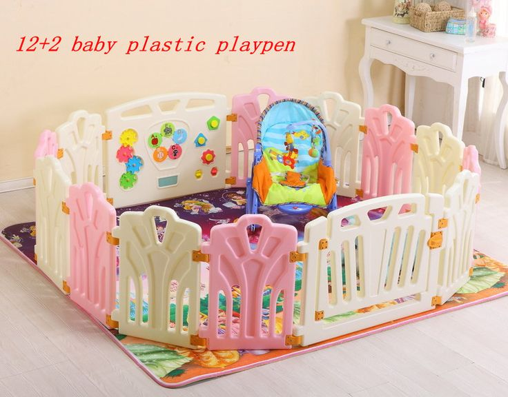14 2 Baby Plastic Playpen Baby Game Fence Safety Fence