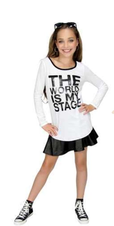 29 Best images about Dance Moms Fashion on Pinterest | Mackenzie ziegler Chic outfits and ...